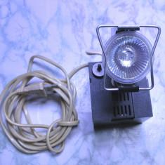 Spot special IOR de colectie I.O.R. lampa bec functional, e foarte rar - Corp de iluminat, Spoturi