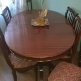 Mobila veche sufragerie - cires