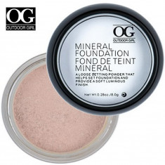Pudra Minerala Mineral Foundation Outdoor Girl - ten deschis, Pulbere