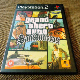 Grand Theft Auto, GTA San Andreas, PS2, original, PAL