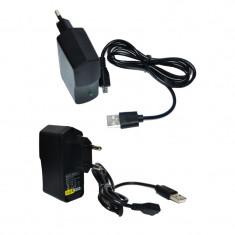 Incarcator compatibil telefon mobil 5V 2A micro USB, De priza