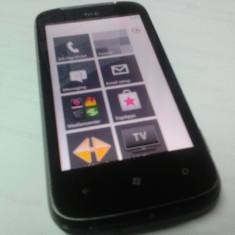 WINDOWS PHONE HTC 7 MOZART 16 GB LIBER DE RETEA FUNCTIONAL CU DEFECT - Telefon HTC, Gri, Neblocat, Single SIM, Single core