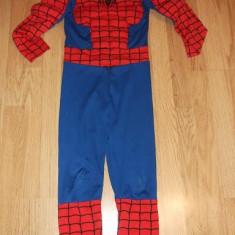 Costum Spiderman pentru 8-9ani - Costum copii, Marime: 30, Culoare: Rosu