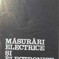 Masurari Electrice Si Electronice - Paul Manolescu Carmen Ionescu-golovanov, 387303 - Carti Electrotehnica