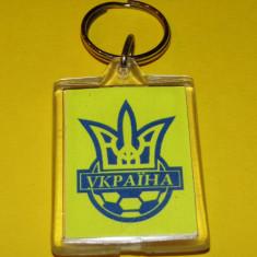 Breloc fotbal Federatia din UCRAINA