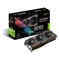 VC ASUS NVIDIA GTX1080 STRIXGTX1080O8GGAM - Placa video PC