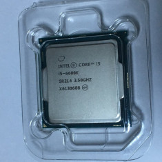 Procesor Intel SkyLake Quad Core i5 6600K 3.5 GHZ/3.9 GHZ LGA 1151 - PRET REDUS - Procesor PC Intel, Intel Core i5 5th Gen, Numar nuclee: 4, Peste 3.0 GHz