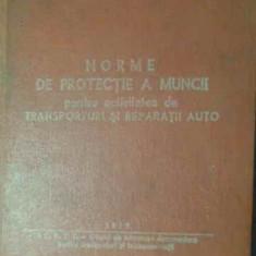 Norme De Protectie A Muncii Pentru Activitatea De Transportur - Necunoscut, 387074
