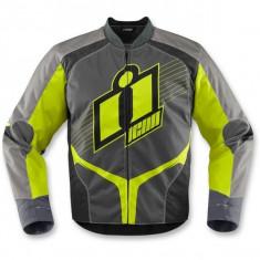 MXE Geaca moto textil Icon Overlord 2, hiviz Cod Produs: 28203101PE - Imbracaminte moto