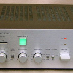 Amplificator Yamaha A-760 - Amplificator audio Yamaha, 81-120W