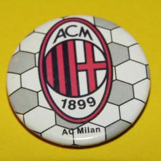 Insigna fotbal AC MILAN