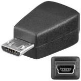 ADAPTOR USB 2.0 MICRO B TATA > MINI B MAMA 93983