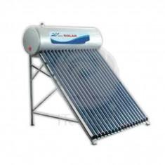 Kit solar presurizat compact, cu boiler inox 200 litri si 20 tuburi vidate - Panou solar
