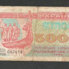 UCRAINA   5000 5.000  CUPON  KUPON  KARBOVANETS  1993  [4] P-93a