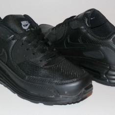 Adidasi Nike Air Max - Adidasi barbati, Marime: 36, 37, 38, 39, 40, 41, 42, 43, 44, Culoare: Negru, Piele sintetica
