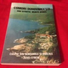 COMORI DUHOVNICEȘTI DIN SF. MUNTE ATHOS, DIN SCRISORILE ȘI OMILIILE AVVEI EFREM - Carti ortodoxe