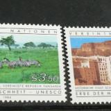 NATIUNILE UNITE VIENA 1984 – VEDERI, serie nestampilata UN69 - Timbre straine