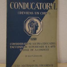 CONDUCATORUL-Jean des Vignes Rouges - Carte Hobby Dezvoltare personala