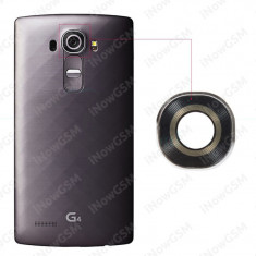 Sticla geam camera adeziv LG G4 H815 original - Geam carcasa