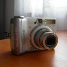 Camera foto video CANON A520 card memorie sd si microsd - zoom optic 4x