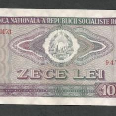 ROMANIA 10 LEI 1966, XF++ [5] P-94 - Bancnota romaneasca