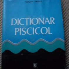 Dictionar piscicol editura ceres carte hobby peste piscicultura