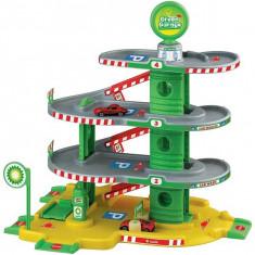 Jucarie Parcare pe 4 nivele cu lift si spalatorie 815 Faro Toys
