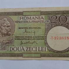 20 lei 1947 rara - Bancnota romaneasca