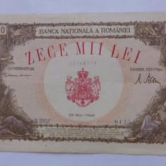 Lot bancnote 2000 lei 1941, 1000000 lei 1947, 10000 lei 1946 - Bancnota romaneasca