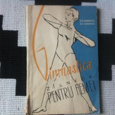 Gimnastica zilnica pentru femei 1959 ed tineretului carte sport hobby ilustrata