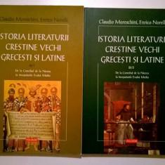 C. Moreschini, E. Norelli - Istoria literaturii crestine vechi grecesti si latine {volumul II, 2 parti}