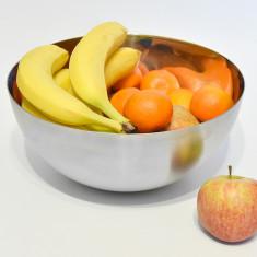 Castron mare – 3 litri - Bol - din inox alimentar – elegant si util - Nou
