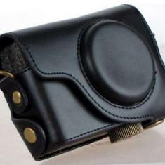 Husă clasică din piele pentru Canon S120 - Husa Aparat Foto Alta