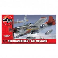 Kit Aeromodele Airfix 01004 Avion North American P-51D Mustang Scara 1:72 - Set de constructie