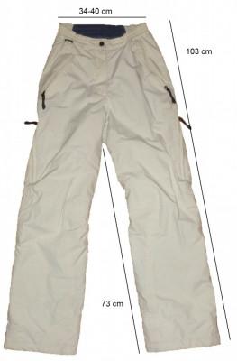 Pantaloni ski snowboard HELLY HANSEN originali, membrana (dama S) cod-261371 foto