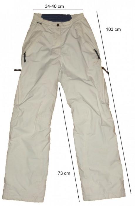 Pantaloni ski snowboard HELLY HANSEN originali, membrana (dama S) cod-261371 foto mare