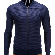 Bluza barbati B551 Bleumarin