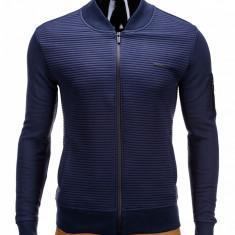 Bluza barbati - 3 culori -, Marime: S, M, L, XL, XXL, Culoare: Bleumarin, Gri, Negru, Anchior, Bumbac