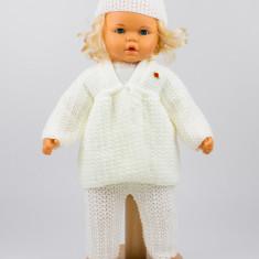 Costum tricotat trei piese fetite