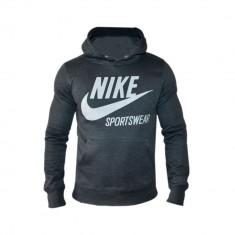 Hanorac Nike Sportswear Model SlimFit Cod Produs G805 - Hanorac barbati, Marime: M, L, XL, XXL, Culoare: Gri, Bumbac