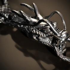 Amuleta, Pandantiv Dragon Cornut INOX - cod PND054