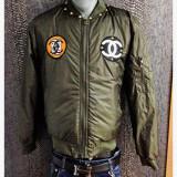 Geaca/jacheta tip army/bomber/pilot/aviator Chanel by Karl Lagerfeld UNICA IN RO
