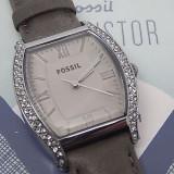 Ceas Fossil ES3128 original nou cu eticheta - Ceas dama Fossil, Casual, Quartz, Inox, Piele, Rezistent la apa