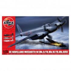 Kit Aeromodele Airfix 3019 Avion De Havilland Mosquito Mkii/Vi/Xviii Scara 1:72 - Set de constructie