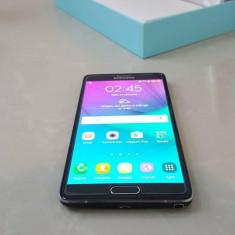 Samsung Galaxy Note 4 Charcoal Black - Telefon mobil Samsung Galaxy Note 4, Negru, Neblocat