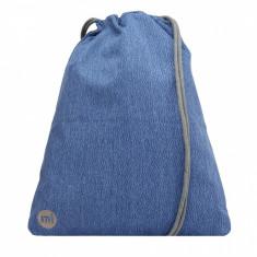Rucsac Mi-Pac Kit Bag Elephant Skin Blue ( 100% Original) - Cod 191 - Rucsac Barbati Kangol, Culoare: Albastru