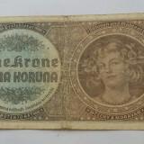 BOHEMIA BOEMIA SI MORAVIA 1 COROANA KORUNA 1940