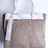 Geanta dama Calvin Klein Logo Jacquard Large Shopper Tote, ORIGINALA