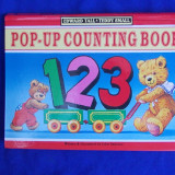 EDWARD TALL / TEDDY SMALL - POP-UP COUNTING BOOK * ILUSTRATII JOHN PATIENCE~2007