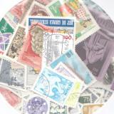 Pachet 100 timbre straine stampilate, diferite